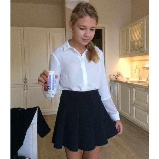 Черные юбки в школу.фото