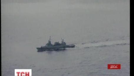 """Американский эсминец """"Росс"""" вошел в Черное море"""