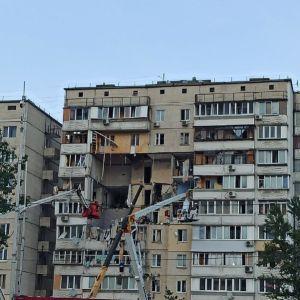 """Перевіряють слюсаря: у МВС розповіли про обшуки в """"Київгазі"""" через вибух в багатоповерхівці на Позняках"""