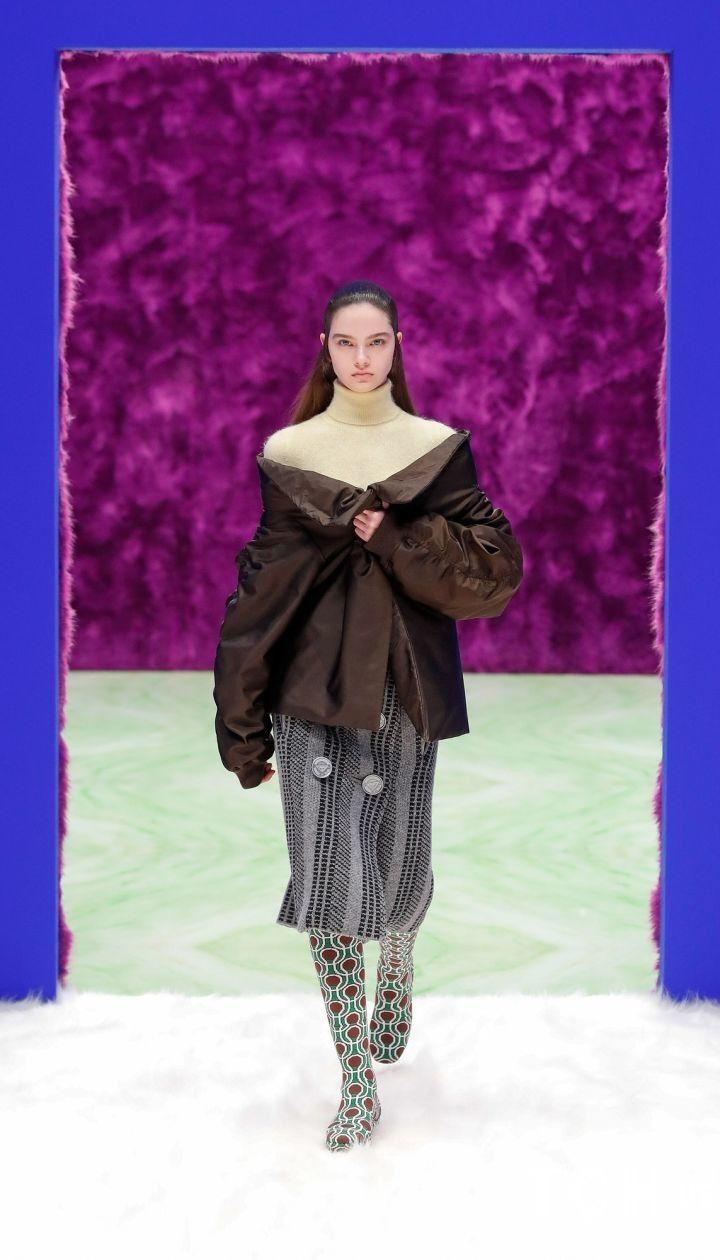 Колекція Prada прет-а-порте сезону осінь-зима 2021-2022 / © East News