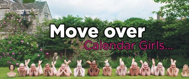 12 голомозих жіночок знялись без одягу для календарю
