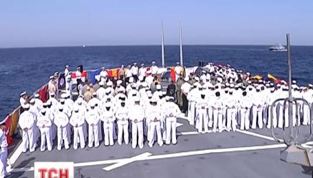 Масштабні навчання НАТО розпочалися неподалік Одеси в Чорному морі