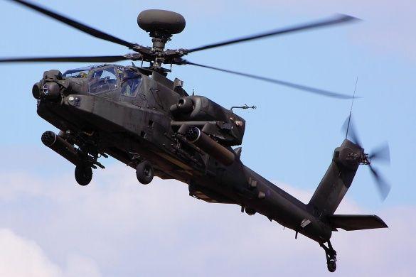 AH64 Apache Longbow (сша)