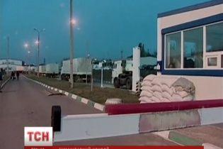 """З 220 російських вантажівок з """"гуманітаркою"""" до Луганська доїхали лише 70 машин"""
