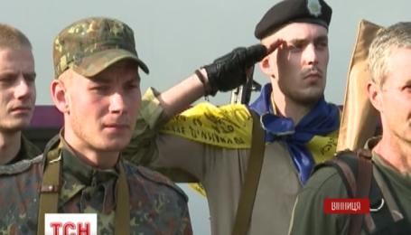 Домой с Донбасса вернулись почти 50 бойцов батальона «Винница»