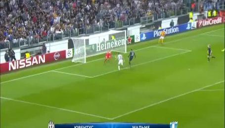 Ювентус - Мальме - 2:0. Відео матчу