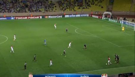 Монако - Байєр - 1:0. Відео матчу