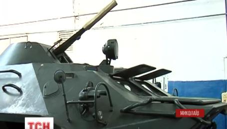 10 БТРів передав Миколаївський бронетанковий завод українським прикордонникам