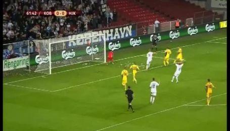 Копенгаген - ХИК - 2:0. Видео матча