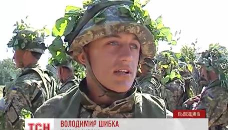 На Яворовском полигоне продолжаются международные учения «Репид Трайдент»