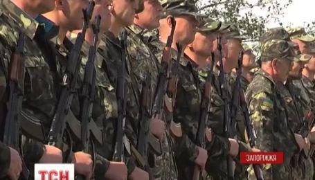 У Запоріжжі бійці 37-го батальйону склали присягу на вірність українському народу