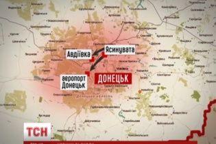 Боевики штурмуют Авдеевку, чтобы подобраться к Донецкому аэропорту - очевидцы