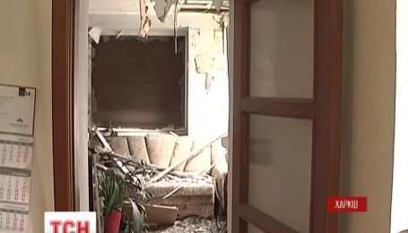 В Харькове ночью взорвали магазин и расстреляли из гранатомета многоэтажку