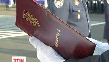 Почти тысяча курсантов Национальной академии МВД приняли присягу