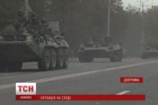 """У Макіївку заїхала колона техніки бойовиків """"ДНР"""""""