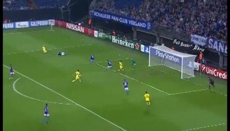 Шальке - Марибор - 0:1. Видео гола Бохара