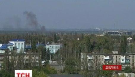 Вночі під вогонь терористів знов потрапили житлові квартали Донецька