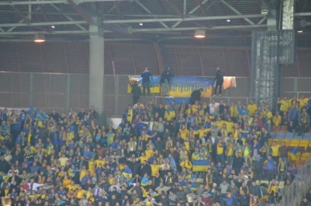 """Білорусь - Україна - 0:2: нелегка перемога під """"Путін - х*йло"""""""