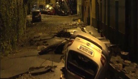 В итальянском городке несколькочасовое наводнение нанесло миллионных убытков