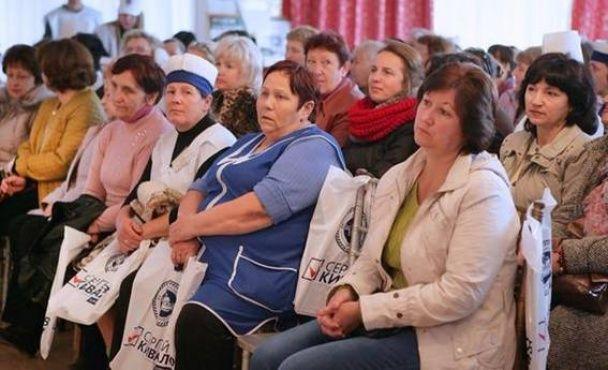 Во время встречи с Киваловым пенсионерам раздавали по 200 грн - Геращенко