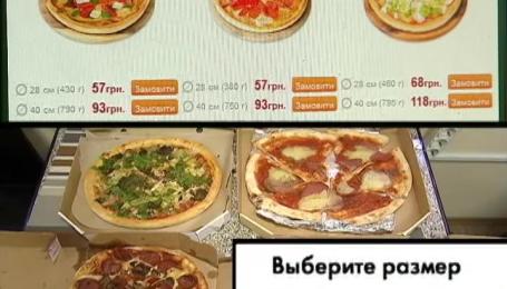 Скільки піци ви отримуєте насправді через швидку доставку