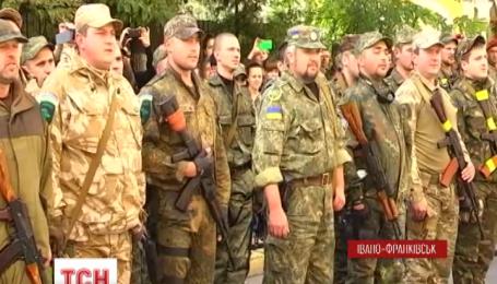 95 милиционеров вернулись в Ивано-Франковска из зоны АТО