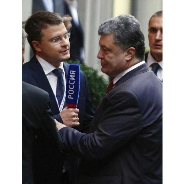 В Мережі з'явилося фото, як Порошенко здихався нахабного російського журналіста