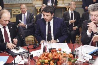 Порошенко назвал три ключевых решения сегодняшней встречи в Милане