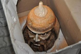 Боевик планировал взорвать Днепропетровск взрывчаткой в виде головы богатыря