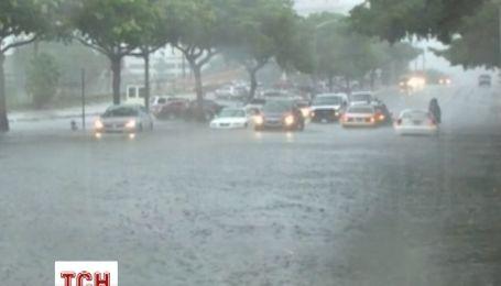 Проливные дожди стали причиной наводнения в штате Флорида