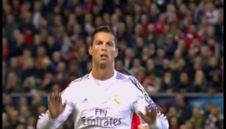 Ліверпуль - Реал - 0:1. Відео голу Роналду