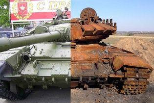 Reuters показав результат бою нових російських танків з українськими військами