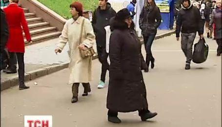 Первые морозы и снег пришли в Украину