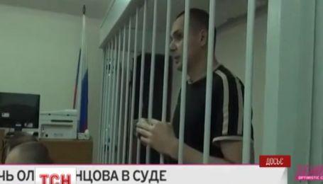 Російський суд залишив під вартою українського режисера Олега Сенцова