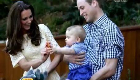 Принца Джорджа визнали найулюбленішим малюком у Великобританії
