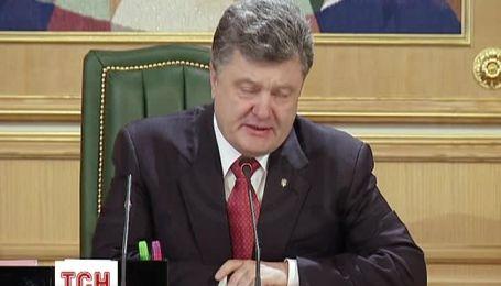 Президент розповів про судову реформу і псевдовибори 2 листопада