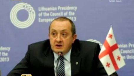 Президент Грузії невдовзі стане батьком