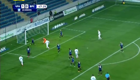 Черноморец - Ворскла - 1:0. Видео-анализ матча