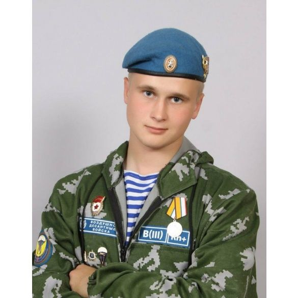 Микола Козлов, російський десантник