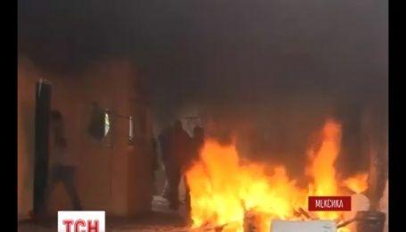 На юге Мексики подожгли офис правящей партии
