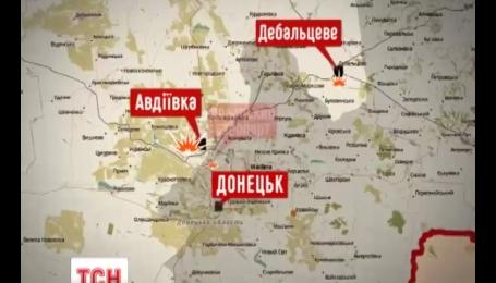 Під обстріли терористів потрапили кілька українських блокпостів