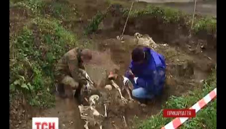 На массовое захоронение жертв НКВД наткнулись на Прикарпатье