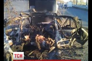 В Волновахе боевики хотели подорвать блокпост АТО набитым взрывчаткой авто