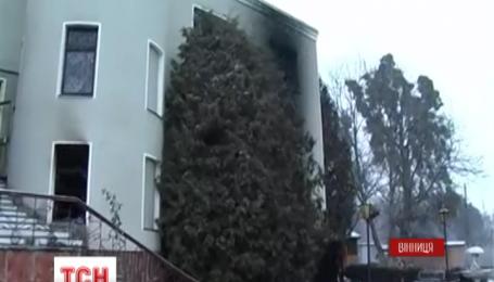 В Виннице горел частный центр реабилитации наркозависимых