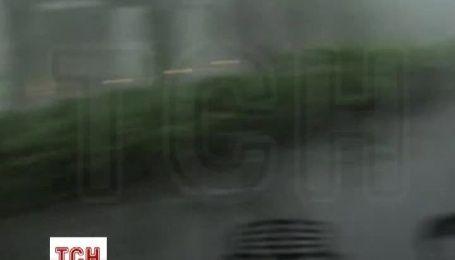 Австралийским городом пронесся шторм с градом с яйцо и ветром, который ломал деревья