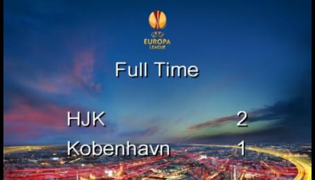 ХИК - Копенгаген - 2:1. Видео матча
