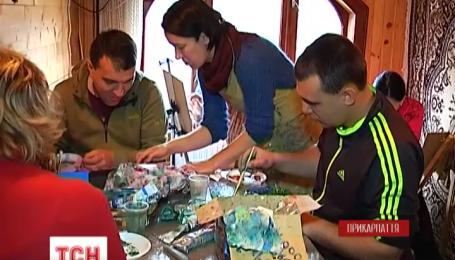 Волонтеры открыли «творческую крыивку» для реабилитации бойцов АТО