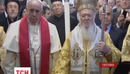 До Вселенського патріарха Варфоломія завітав Папа Римський Франциск