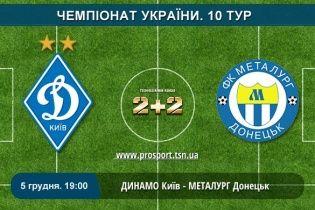 Динамо - Металург Донецьк - 3:0. Відео голів
