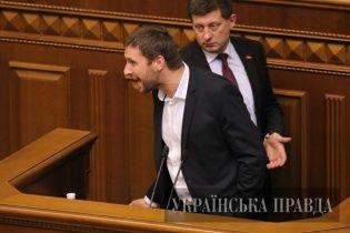 Перша бійка в Раді: шарпанина і Майдан
